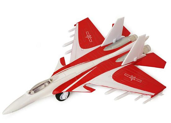 Yellow / Red / Blue Kids Die-Cast J-15 Fighter Aircraft Toy