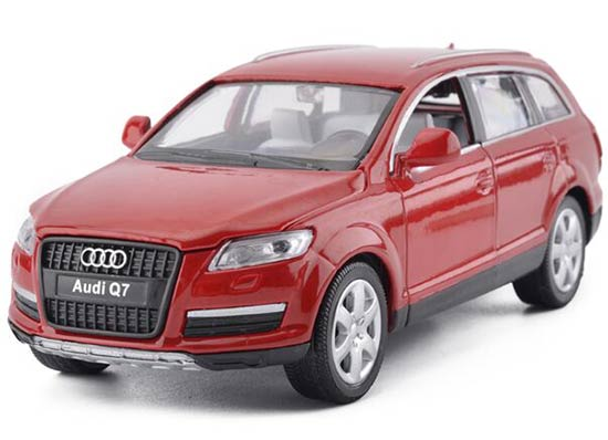 Kids Black / Red / White / Blue 1:32 Scale Diecast Audi Q7 Toy