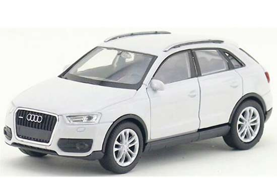 Red / Orange/ White Kids 1:36 Scale Welly Diecast Audi Q3 Toy