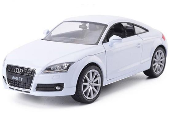 1:24 Scale Five Different Colors Welly Diecast Audi TT Model
