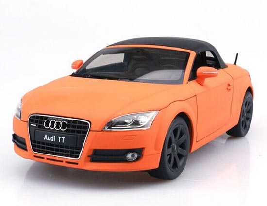 1:18 Scale Welly Five Colors Diecast Audi TT Model
