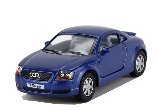 Yellow /Red /Blue /Black Kids 1:36 Scale Diecast Audi TT Coupe
