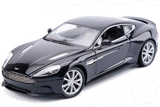 1:24 Blue / White /Champagne Welly Diecast Aston Martin Vanquish