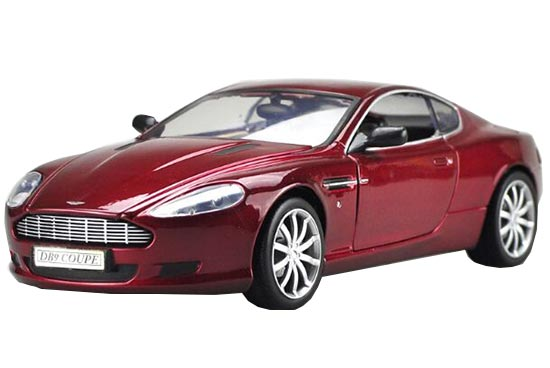 Black / Red / Blue 1:18 Diecast Aston Martin DB9 COUPE Model