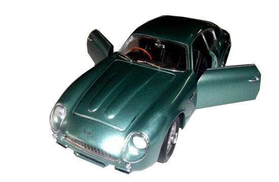 Green 1:18 Scale Diecast 1961 Aston Martin DB4 Model