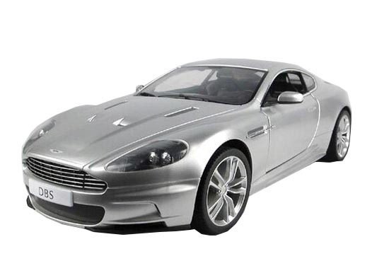1:10 Black / Silver Full Functions R/C Aston Martin DBS Toy