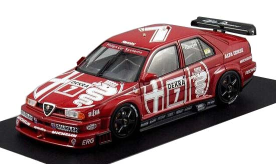 Red 1:43 Scale HPI Diecast Alfa Romeo 155V6 Model