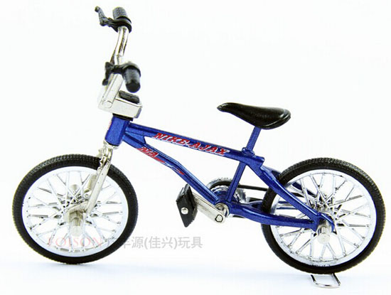 Mini Scale Black / Blue / Purple Alloy Made Bicycle Toy