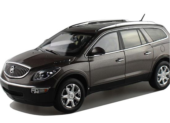 Black /White / Brown 1:18 Scale Diecast Buick Enclave SUV Model