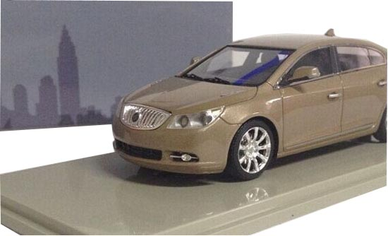White / Black / Golden 1:43 Scale Diecast Buick 2011 LaCrosse