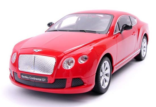 1:16 Large Scale White / Black / Red R/C Bentley Continental GT
