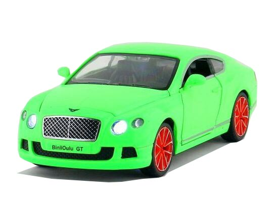 Kids Blue / Orange / Green 1:32 Scale Bentley Continental GT Toy