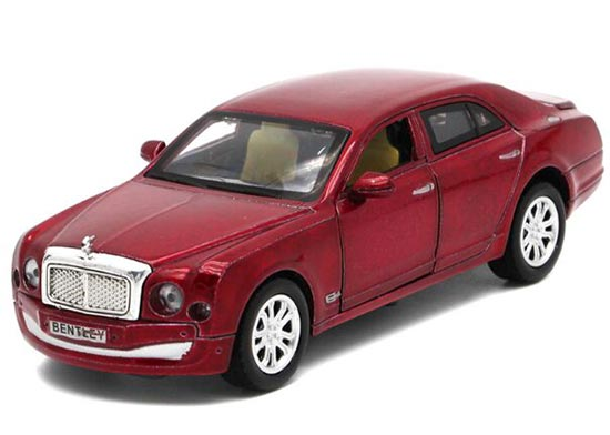 Kids Blue / White / Black / Red 1:32 Scale Bentley Mulsanne Toy