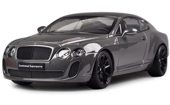Gray / White / Orange 1:18 Scale Bentley Continental GT Model