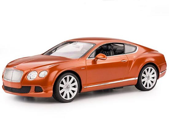 Black / White / Orange 1:14 Scale R/C Bentley Continental Toy