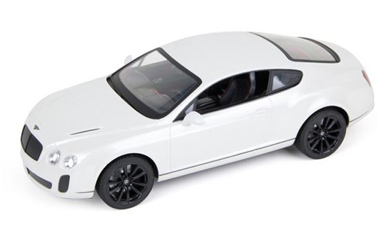 1:14 Large Scale Blue / White R/C Bentley Continental Toy