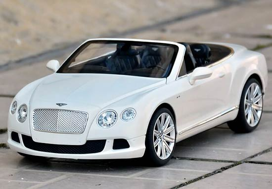 Orange / White / Black Kids 1:12 R/C Bentley Continental GT Toy