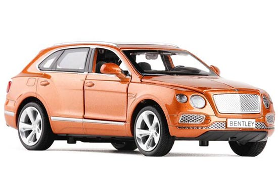 Orange /Blue /Black Kids 1:32 Scale Diecast Bentley Bentayga Toy