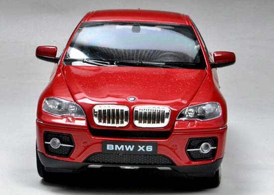 1 24 Scale White Red Black Welly Diecast Bmw X6 Suv Model