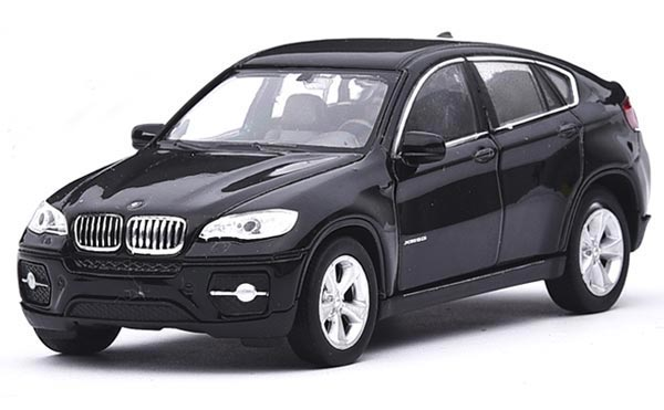 Red Kids 1:36 Scale Welly Diecast BMW X6 SUV Toy