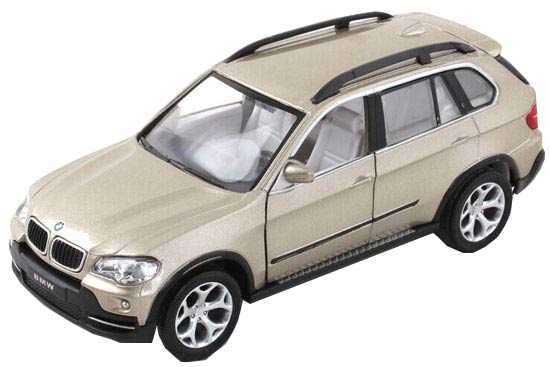Kids 1:32 Blue / White / Cyan /Champagne Diecast BMW X5 SUV Toy