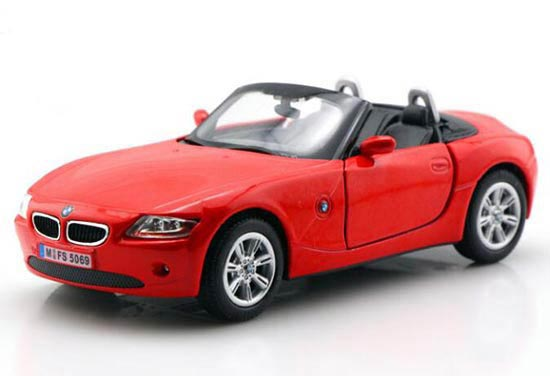 Kids 1:32 Red / Black / Silver / Wine Red Diecast BMW Z4 Toy