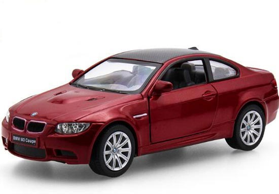 White /Black /Red /Silver 1:36 Scale Kids Diecast BMW M3 Coupe