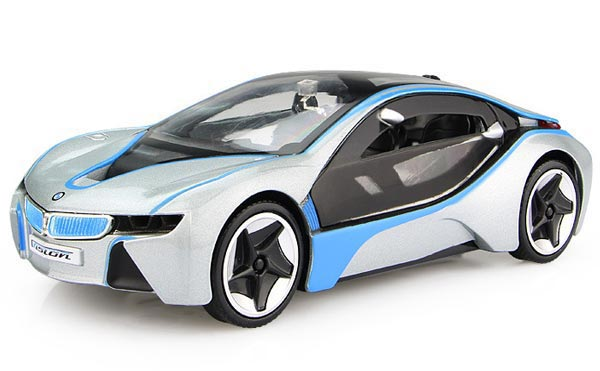 1:28 Scale Kids Red / Silver / White /Yellow Diecast BMW I8 Toy