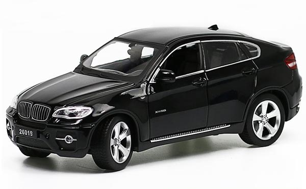 Red Black White Kids 1 24 Scale Diecast Bmw X6 Suv Toy