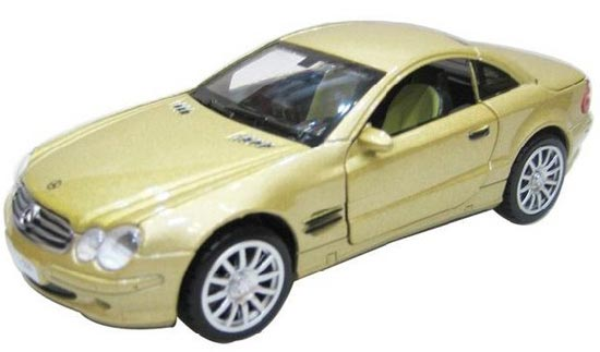 1:32 Black /Yellow /Red /White /Silver Mercedes-Benz SL500 Toy