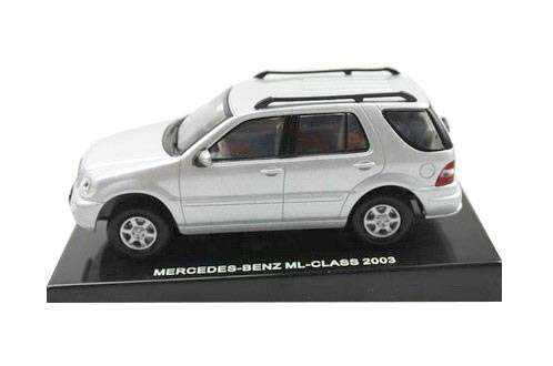 Kids 1:43 Scale Silver MERCEDES-Benz ML-CLASS 2003 Toy