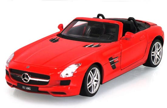 Black / Red / White 1:24 Diecast Mercedes-Benz SLS AMG Cabrio
