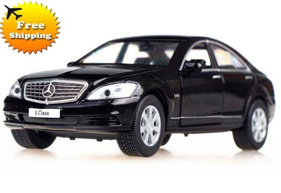 1:32 Blue /Black /Silver /Golden Diecast Mercedes-Benz S600L