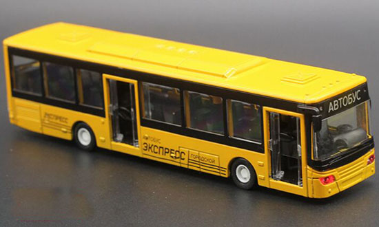 1:50 Scale Kids Yellow / Red / Blue / White City Bus Toy