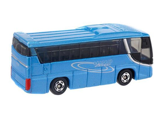 Kids 1:156 Scale Blue NO.101 TOMY Die-cast Hino Coach Bus Toy