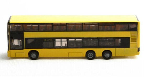 1:87 Scale Yellow Germany SIKU 1884 Man Double Decker Bus