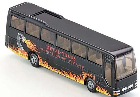1:87 Scale Black SIKU U1624 Die-Cast Man Coach Bus Toy