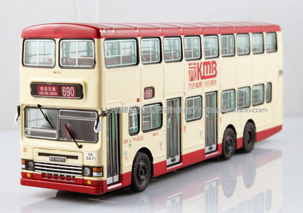 1:76 Collectables Limited Edition Hong Kong Double Decker Bus