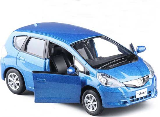 1:36 Scale Blue / Red / Yellow / Green Diecast Honda Fit Toy
