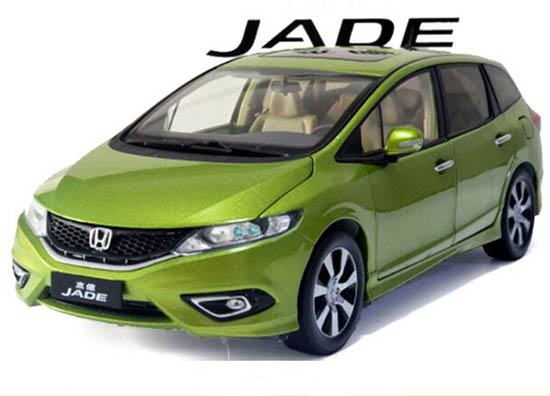 Green / Red 1:18 Scale Die-Cast Honda Jade Model