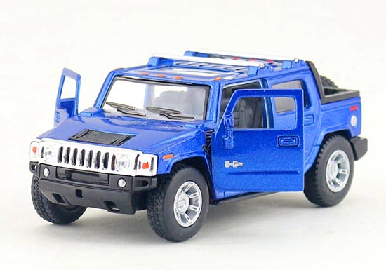 Black / Red / Blue / Yellow Kids Diecast Hummer H2 Pickup Toy