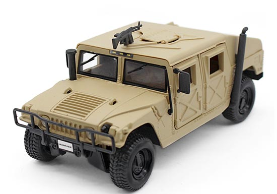 1:27 Scale MaiSto Diecast Military Hummer H1 Model