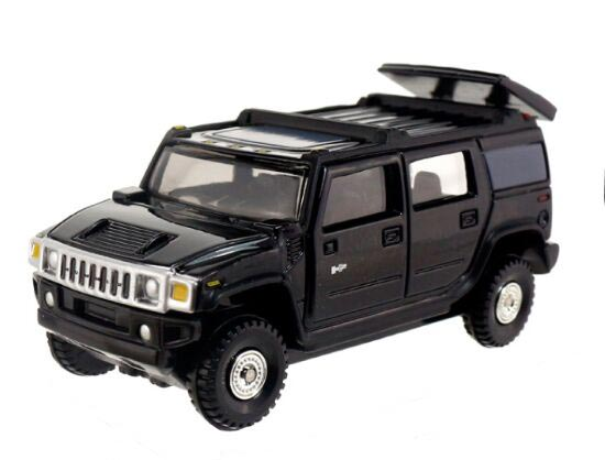 Black 1:67 Mini Scale NO.15 TOMY Diecast Hummer H2 Toy