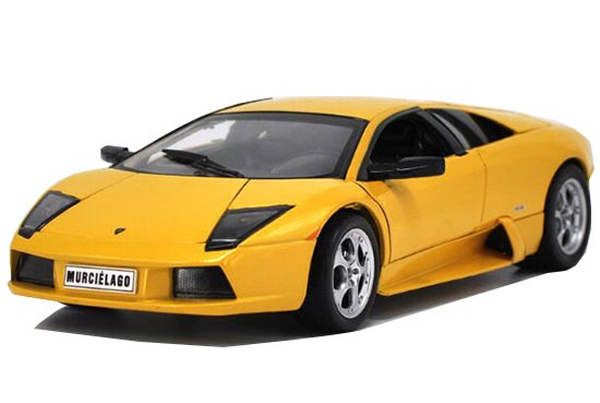 Yellow / Orange 1:18 Scale Die-Cast Lamborghini Murcielago LP640
