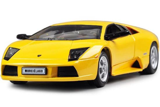 Yellow /Orange /Black 1:24 Die-Cast Lamborghini Murcielago Model