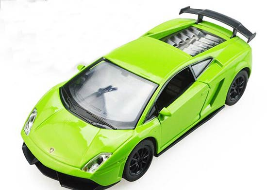Yellow / Green / Red Kids 1:32 Die-Cast Lamborghini Gallardo Toy