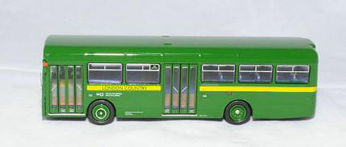 1:76 Scale Limited Edition NO.446B Green London Bus Toy