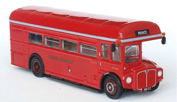 1:76 Scale Red Singledecker London Bus Toy