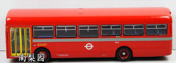 1:76 Scale Red Alloy Made Singledecker London Bus Toy