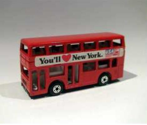 1:144 Scale Matchbox NO. MB017 Red London Double Decker Bus